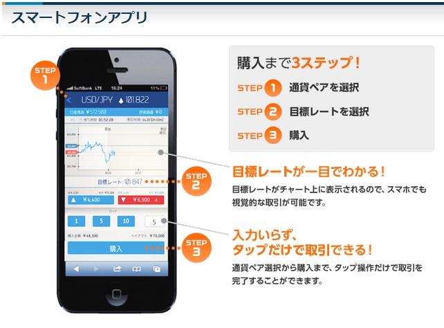 バイトレのスマホアプリ